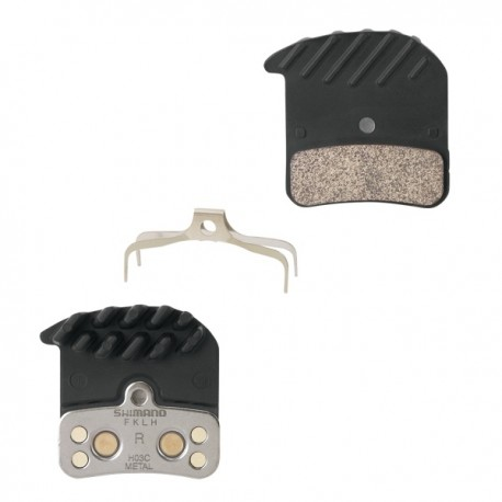 Brzdové destičky SHM640/820, kovové s chladičem