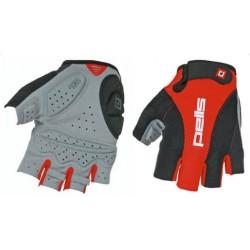 Rukavice PROFI GEL - červená/černá, L