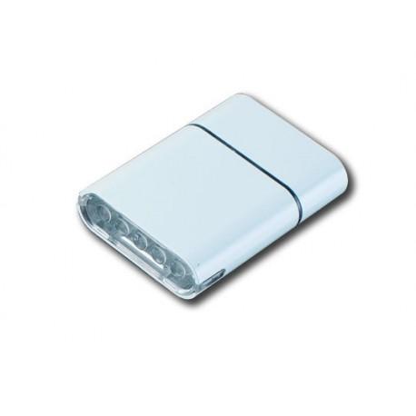 Cyklistická svítilna Owleye USB 5WW přední bílá