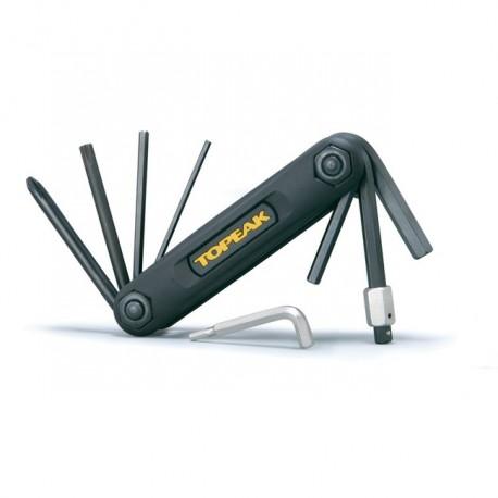 Multiklíč TOPEAK X-TOOL 10 funkcí - černá