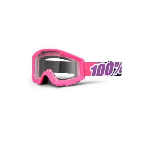 Brýle MX/DH 100% STRATA Bubble Gum - čirá skla