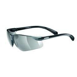 Brýle UVEX Flash černo/kouřové