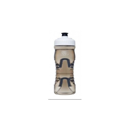 Láhev FABRIC CAGELESS 600 ml transparentní černá/bílá