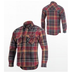 ALPINESTARS SLOPESTYLE TECH SHIRT - FUNKČNÍ KOŠILE RED TARTAN vel. XL