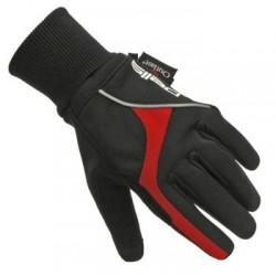 Rukavice zimní PELLS Explorer černá/červená, vel. M