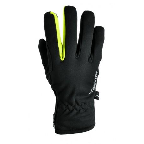 Zimní rukavice SILVINI TRELCA černá-neon vel. L