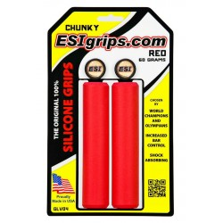 Gripy ESI Chunky - červená