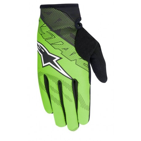 Rukavice Alpinestars Stratus green/black vel. M
