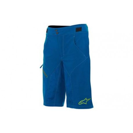 Kraťasy Alpinestars Outrider WR base shorts darkblue/lime vel. 36