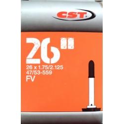 Duše CST 26x1.75/2.125 (47/53-559) FV / 40 mm