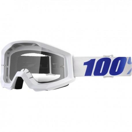 Brýle motokrosové 100% Strata Equinox - čirá skla