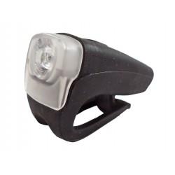 Přední světlo 4RACE LF03 3W LED USB - černá