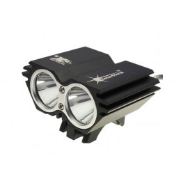 Cyklistická svítilna SolarStorm X2 1300 lumen