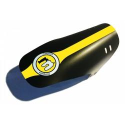 Blatník Mucky Nutz Face Fender žlutá - kulaté logo