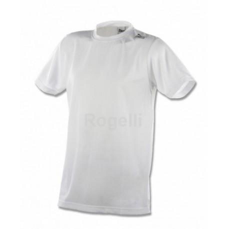 Funkční triko Rogelli PROMO kr. ruk. pánské bílé L