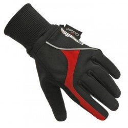 Rukavice Explorer (L) černá-červená