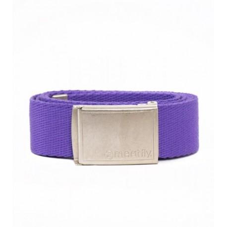 Opasek MEATFLY LOGO BELT C - purple