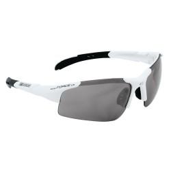 Brýle FORCE SPORT, bílé, černá skla