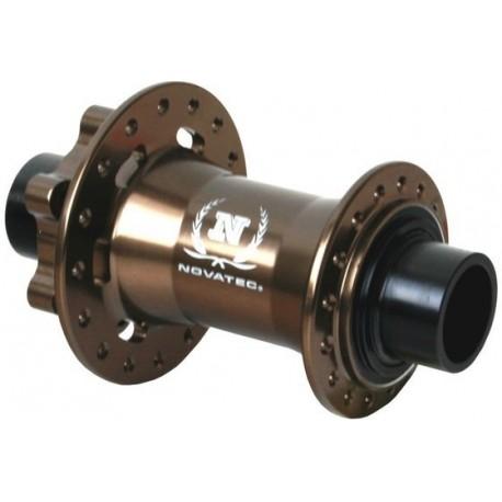 Přední náboj Novatec DH61SB 20mm 32d hnědá