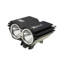 Cyklistická LED svítilna SolarStorm X2 Cree XM-L2