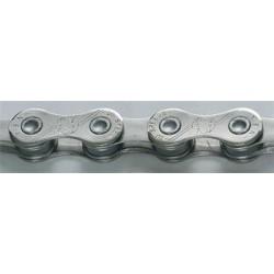 Řetěz 10 YBN S10 CR stříbrný, 10speed se spojkou