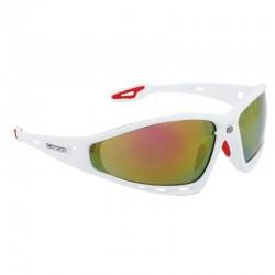 Brýle FORCE PRO bílá, červená skla + 3x skla