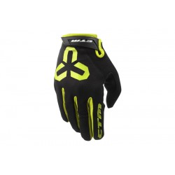 Rukavice CTM GIPPER - celoprstové, žlutá, vel. L