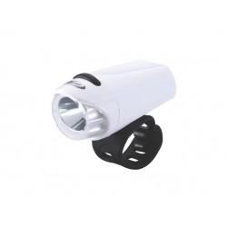 Přední světlo BBB BLS-75 EcoBeam bílá-černý pásek