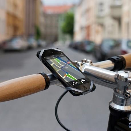 Držák smartphonu na řidítka FINN, silikon