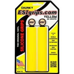 Gripy ESI Chunky - žlutá