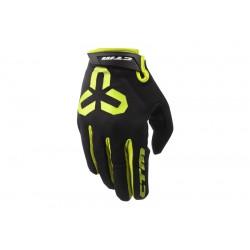 Rukavice CTM GIPPER - celoprstové, žluté, vel. M