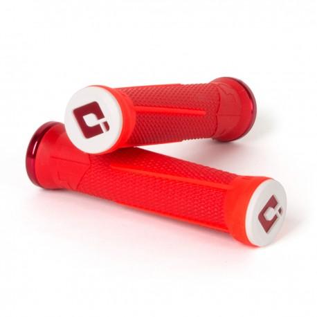 Gripy ODI AG-1 Signature V2.1 bonus pack - červená