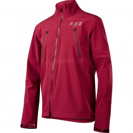 Pánská cyklo bunda Cyklistická bunda Fox Attack Water Jacket - Dark Red vel. XL