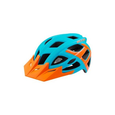 Přilba RM Edge modro/oranžová vel. S/M 55-58cm