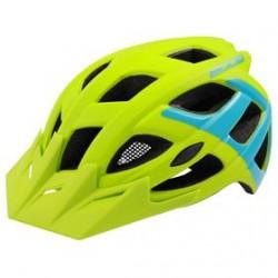 Přilba RM Edge zeleno/modrá vel. M/L 58-61cm