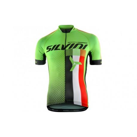 Dětský dres SILVINI TEAM green vel. 134-140