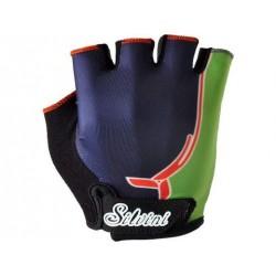 Dětské rukavice SILVINI PUNTA navy/green vel. 11-12