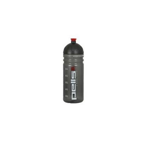 Láhev X-RACE 0,7 šedá transparentní
