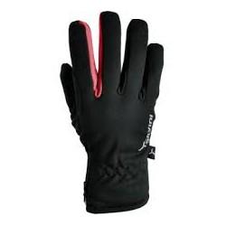 Zimní rukavice SILVINI TRELCA černá/červená vel. XL