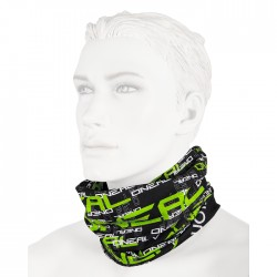 Šátek na krk O'Neal Matrix černá/žlutá