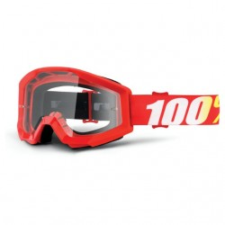 Brýle motokrosové 100% STRATA Furnace - Clear Lens