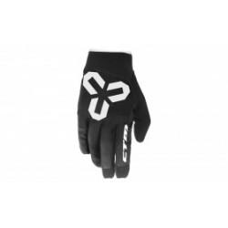 Rukavice CTM VICE - celoprstové, černá/bílá, vel. L