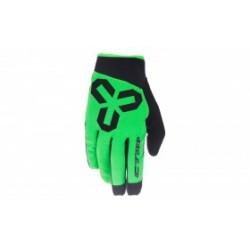 Rukavice CTM VICE - celoprstové, zelená, vel. M