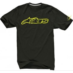 Triko Alpinestars Blaze 2 Tech Tee Ride blk/acid yellow vel. XL