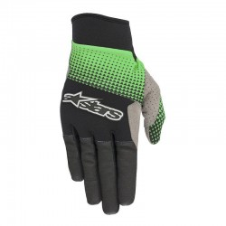 Rukavice Alpinestars CASCADE PRO black/summer/green, vel. XL