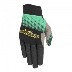 Rukavice Alpinestars CASCADE PRO black/teal, vel. XL