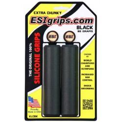 Gripy ESI Chunky EXTRA - černá