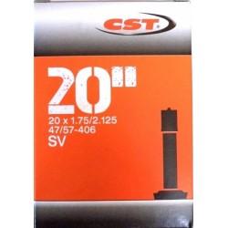 Duše CST 20x1.75/2.125 AV 33mm