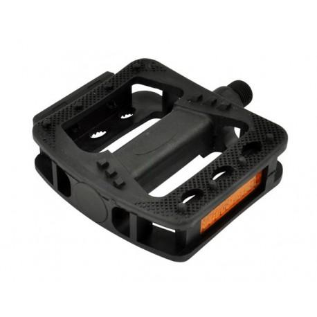 Pedály MAX1 BMX plastové, černé