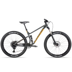 NORCO Fluid FS 3 27.5 Charcoal/Orange - vel. S